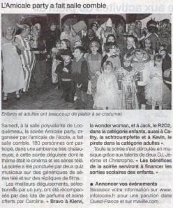 Amicale Party dec 2012