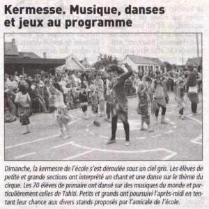 Le télégramme 02 juillet 2013