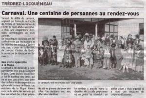 Le Télégramme 11 mars 2013