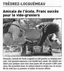 Le Télégramme 27 mai 2013