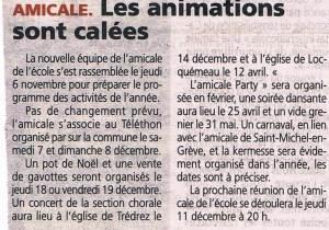 Le Trégor 13 novembre 2014