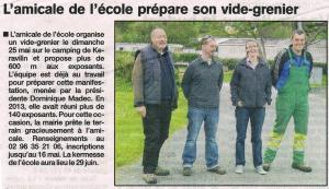 Le Trégor 8 mai 2014