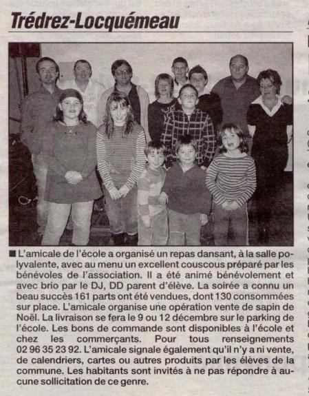 Le Trégor 04 décembre 2008