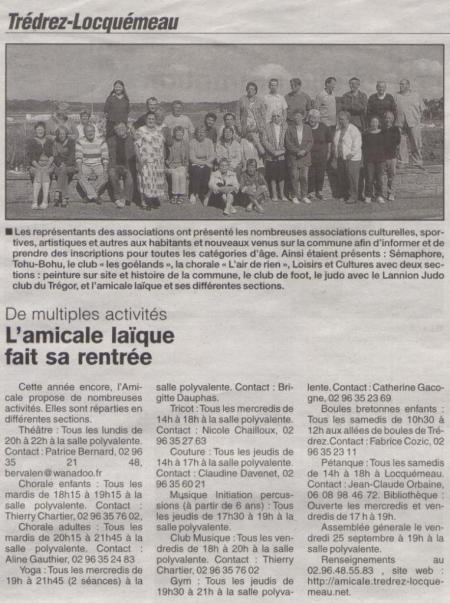 Le Trégor 10 septembre 2009