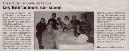 Le Trégor 12 mars 2009