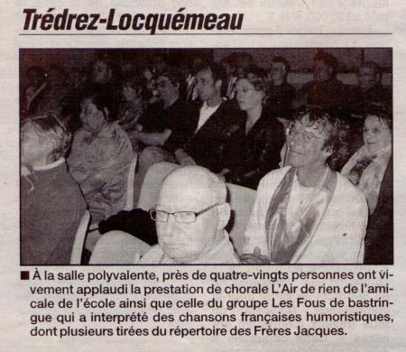 Le Trégor 7 mai 2009