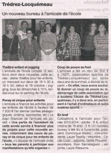 Ouest-France 01 octobre 2013