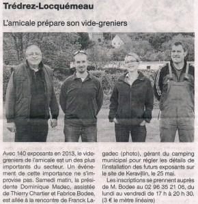 Ouest France 06 mai 2014