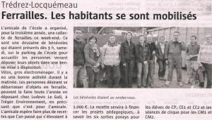 Ouest France 08 avril 2014