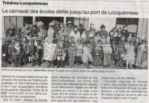 Ouest France 11 mars 2013