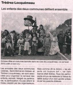 Ouest France 18 mars 2015
