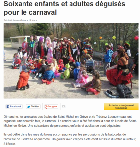 Ouest France 19 mars 2014