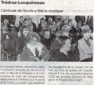 Ouest France 25 juin 2013