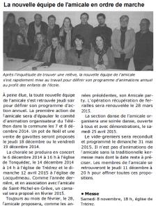 Ouest France 8novembre 2014