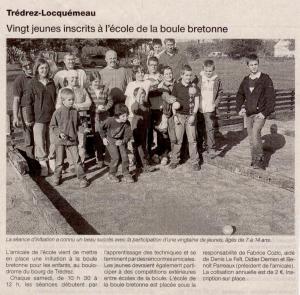 ouest france14 octobre 2009
