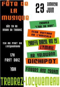 Affiche fete de la musique 2013