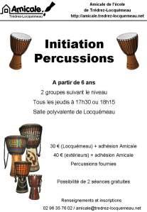 affiche percussions 2013